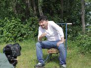 Интервью на природе