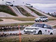 Трасса offroad для Range Rover