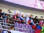 Болельщики на сочинской олимпиаде