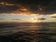 Турецкий закат над морем