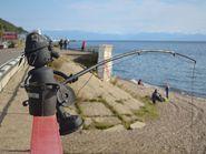 Железный рыбак