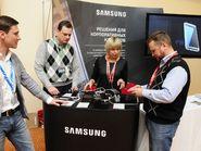 Демонстрация оборудования Samsung