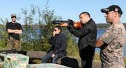 Стрельба по мишеням из ружья
