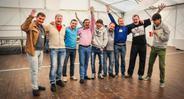 Довольные участники Осеннего призыва 2013 в Москве