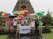 Фото с зонтиками на острове Бали