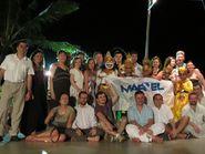 Групповое фото с партнерами на острове Бали