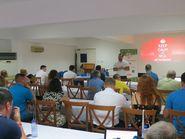 Деловая часть футбольного фестиваля на Кипре