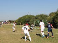 Острые моменты на футбольном поле