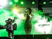 Зеленая певица