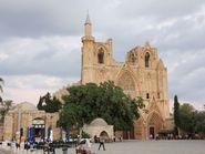 о.Кипр, вид на собор